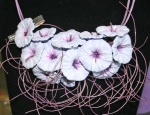 Begona lavendar necklace
