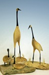Bone, baleen and Ivory Geese and Cranes
