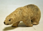 Bone Polar bear 1970's   $210