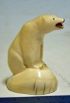 Ivory Polar Bear by George Milligrock  $225