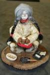 Iyakitan, Kimberly; walrus gut, ivory, seal skin doll  $500